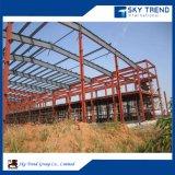 Disposizione d'acciaio della costruzione del gruppo di lavoro di montaggio del gruppo di lavoro della fabbrica di basso costo