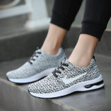 Les loisirs des hommes folâtrent le tissu en gros de lacet de chaussures de coussin d'air d'agent de chaussures pilotant les chaussures des jeunes hommes coréens de mode