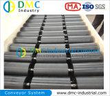 rulli del trasportatore del nero del tenditore del trasportatore dell'HDPE del sistema di trasportatore del diametro di 114mm