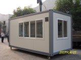 Prefab modular de 20FT/casa móvel do recipiente do bloco liso para o dormitório