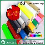Vinyle magique de transfert thermique d'unité centrale de Qingyi pour le textile