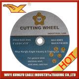 Rotella di taglio della resina per metallo ed uso di Inox