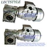 Motore del riduttore di velocità dell'attrezzo di vite senza fine di CA e motore rampicante della scala con 0.37kw 140rpm 22n. 10:1 di m.