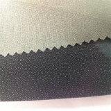 Tela hecha punto tejida fusible 100% de la tela cruzada 50d Interlining&Lining del poliester