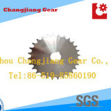 Standard en acier inoxydable Stock Transmission Engrenage Sprocket Wheel Chain