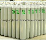 cilindro de gás do argônio 40liter com Qf-2A VAL e tampão