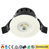Ce RoHS SAA 5W CCT Dimmable IP65 LED Downlight para el cuarto de baño