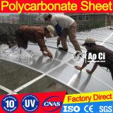 Het berijpte Blad van het Dakwerk van het Polycarbonaat van de tweeling-Muur Holle met UVBescherming