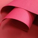 Tissu en gros d'Oxford de polyester de l'action 600d de la Chine avec le support de PVC pour des sacs et des tentes