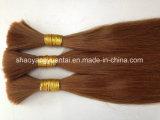 """Extensión a granel del pelo humano del color mezclado 8 """"-30"""" / pelo humano de la Virgen"""