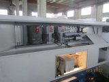 Máquina do torno do CNC da base Ck6132 lisa