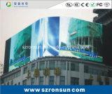 P7.62mm que hace publicidad de la pantalla de visualización al aire libre a todo color de LED de la cartelera