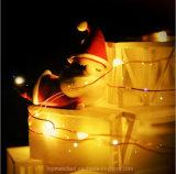 クリスマス熱い販売の電池式の40のマルチカラーLED妖精ストリングライト