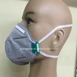 Mascherina protettiva a gettare piegata polvere N95 con carbonio attivo