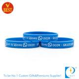 Farbton-SilikonWristband Soem-China kundenspezifischer