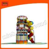 Campo de jogos interno da corrediça da câmara de ar de Mich para crianças