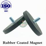 Magnete eccellente del neodimio della grande forza con gomma