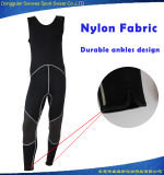Men 3mm Neoprene Gun Kneepads Vest Tank Top Surfing Wetsuit