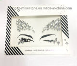 Autoadesivo acrilico dei diamanti di trucco dell'occhio degli autoadesivi del Rhinestone del fronte dell'occhio di arti dello spettacolo dell'autoadesivo del tatuaggio (TP-113)