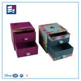 Contenitore di monili impaccante del regalo di carta su ordinazione con cartone stampato