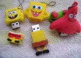 주문 PVC 갯솜 아기 USB 섬광 드라이브