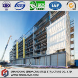 Costruzione dell'hotel della struttura del blocco per grafici d'acciaio con il multi pavimento