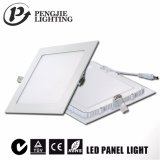Neue super dünne Panel-Lampe des Gehäuse-Quadrat-3W LED
