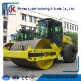 Rolo de estrada vibratória auto-propulsionável de 14 toneladas Lss214