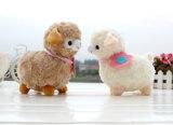 Giocattolo su ordinazione della peluche dell'alpaga del giocattolo dell'animale farcito del giocattolo della peluche