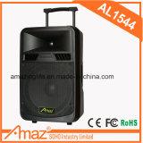 Tipo activo altavoz portable al aire libre recargable del amplificador de la carretilla del PA