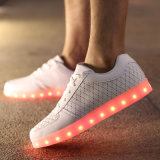 2017 نابض حذاء أسلوب [لد] [ييزي] يشعل أحذية مع 7 ألوان يغيّب