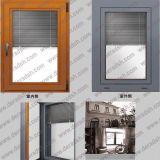 Алюминиевое окно Ylj50 при шторки построенные внутри