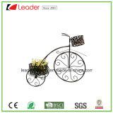 ホームおよび庭の装飾のための装飾的な金属の自転車プランター