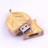 Hölzerne grelles Laufwerk Urlaub USB-2.0 für kreatives Geschenk