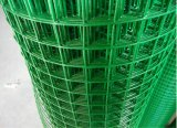 PVC Eurofence verde revestido de la buena calidad
