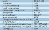 12V/24V Diepvriezer van de Ijskast van de compressor de Mini Zonne