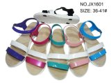 Sandalo semplice di plastica delle donne del PVC nuovo