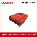 3kVA 24VDC solar com o inversor certificado ISO solar da potência 11k do controlador