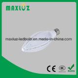 保証3年ののE27 E40 LEDのトウモロコシライト高い発電70W