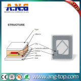 5mm Ntag216, die RFID Marken mit nicht gesponnener Gewebe-Oberfläche programmieren