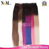 Оптовая лента в выдвижении волос ленты PU человеческих волос Remy волос кожи выдвижения волос Weft