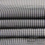 Acqua & degli abiti sportivi prodotto nero intessuto rivestimento esterno Vento-Resistente 100% del filamento del filato del poliestere del jacquard del plaid giù (FJ019)