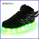 Zapatos unisex luminosos del LED Yeezy