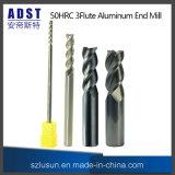 Edvt 50HRC 3fluteのCNC機械のためのアルミニウム端製造所の切削工具