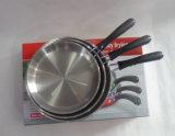 Vaschetta di frittura di lucidatura dell'acciaio inossidabile di trattamento dello specchio