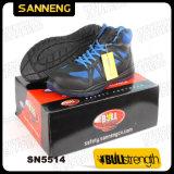Zapato de seguridad del tobillo del estilo del deporte con la punta compuesta (SN5514)