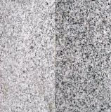 白い花こう岩、花こう岩の石造りの花こう岩のタイル