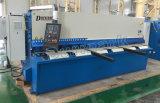 Машина ножниц гильотины длины вырезывания 2500-6000mm QC12k гидровлическая, автомат для резки металла