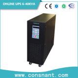 UPS en ligne de basse fréquence avec 192VDC 10-40kVA triphasé