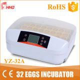 Hhd 가장 새로운 소형 32 PCS 자동적인 계란 부화기 판매 Yz-32s
